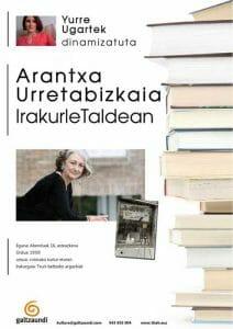 """""""Zuri-beltzeko argazkiak"""", Arantxa Urretabizkaiarekin 5"""