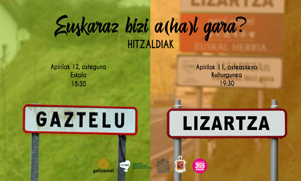 Lizartzan eta Gaztelun euskaraz bizi a(ha)l gara? 1