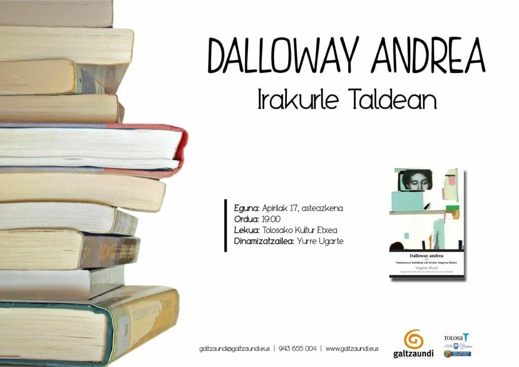 'Dalloway andrea' landuko du irakurle taldeak 1