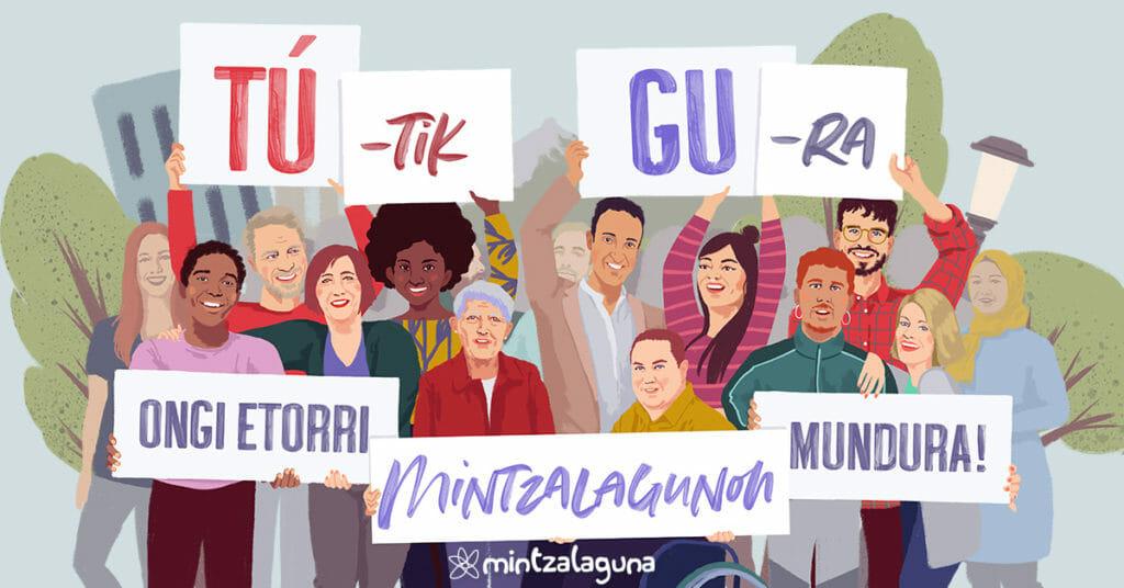 """Martxan da Mintzalaguna egitasmoa 'Tú-tik Gu-ra"""" lelopean 23"""