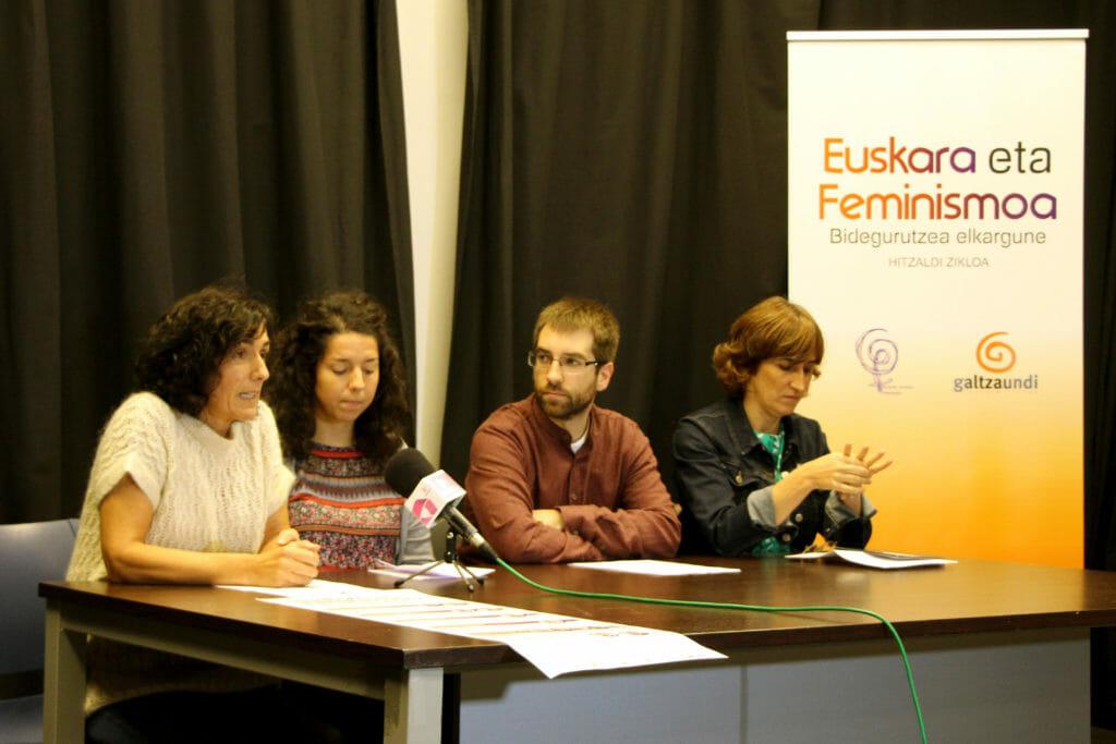 Mugimendu feministaren eta euskaltzalearen arteko elkarguneez gogoetatzeko hitzaldi zikloa 41