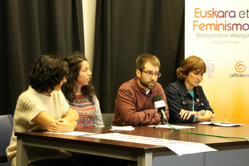 Mugimendu feministaren eta euskaltzalearen arteko elkarguneez gogoetatzeko hitzaldi zikloa 37