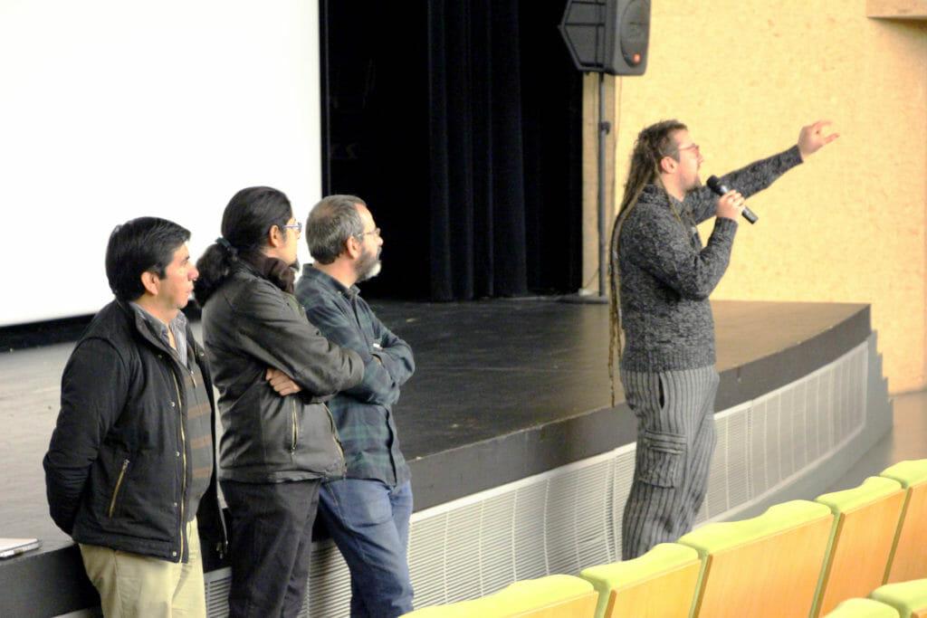 Maputxeen hizkuntzari buruzko dokumentala ikusi dute eskualdeko ikasleek 45
