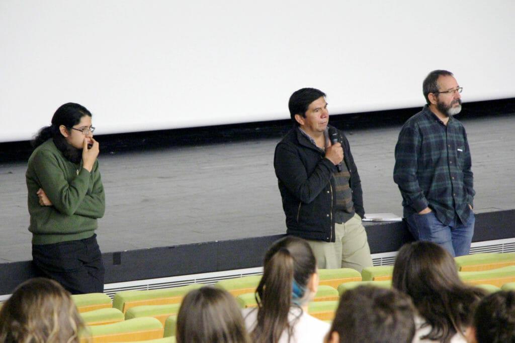 Maputxeen hizkuntzari buruzko dokumentala ikusi dute eskualdeko ikasleek 59