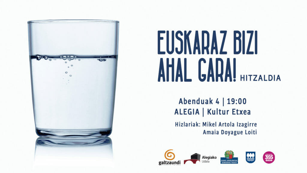 Alegia, Alkiza, Bidania-Goiatz eta Elduainen hitzaldiak, datorren astean 19