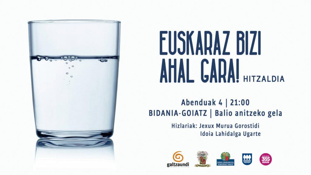 Alegia, Alkiza, Bidania-Goiatz eta Elduainen hitzaldiak, datorren astean 23