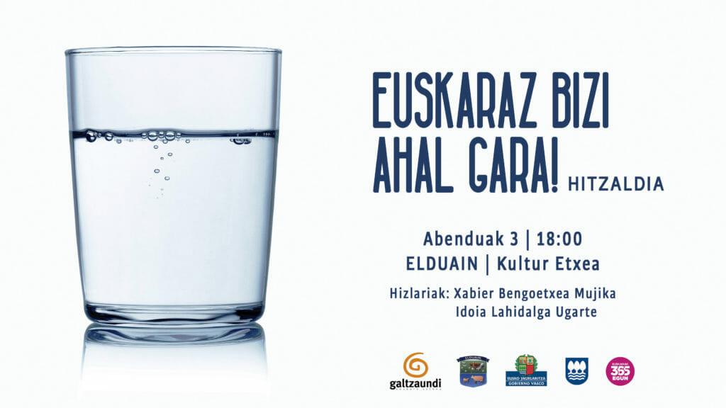 Alegia, Alkiza, Bidania-Goiatz eta Elduainen hitzaldiak, datorren astean 25