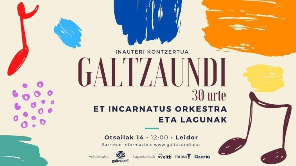 'Galtzaundi 30 urte': Inauterietako doinuekin kontzertu berezia emango du Et Incarnatus orkestrak 7
