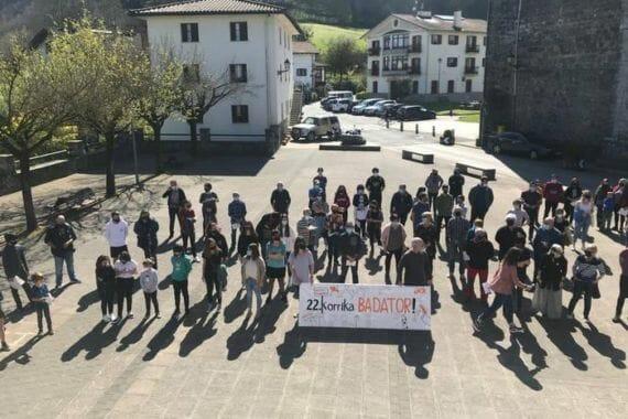 'Bultza euskaltegiak! Bultza euskara!': Korrikaren aldeko ekitaldiak eskualdean 7