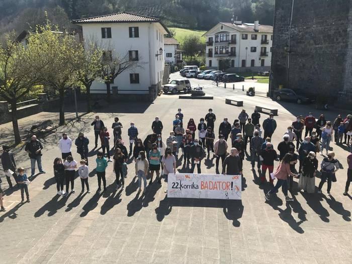 'Bultza euskaltegiak! Bultza euskara!': Korrikaren aldeko ekitaldiak eskualdean 1