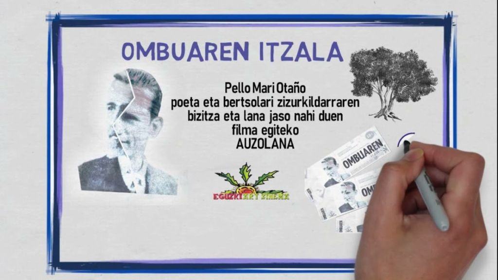 Pello Mari Otañoren inguruko filma ekonomikoki laguntzeko, sarrerak aldez aurretik salgai 1