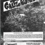 Duela 30 urte argitaratu zen lehen aldiz 'Galtzaundi' aldizkaria 11